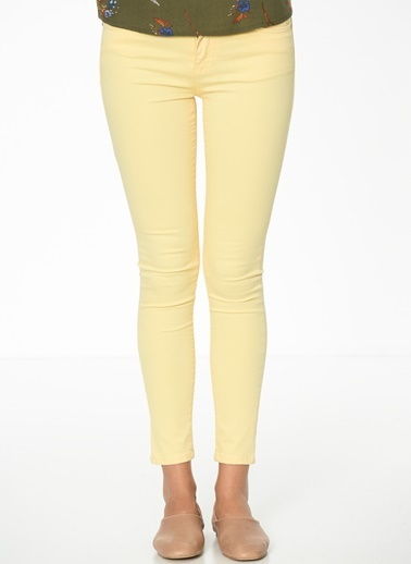 Fashion Friends Pantolon Sarı